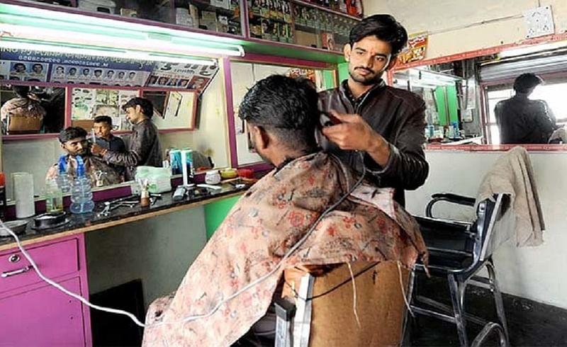 Salon businessmen sent letter to CM about opening of salon in maharashtra