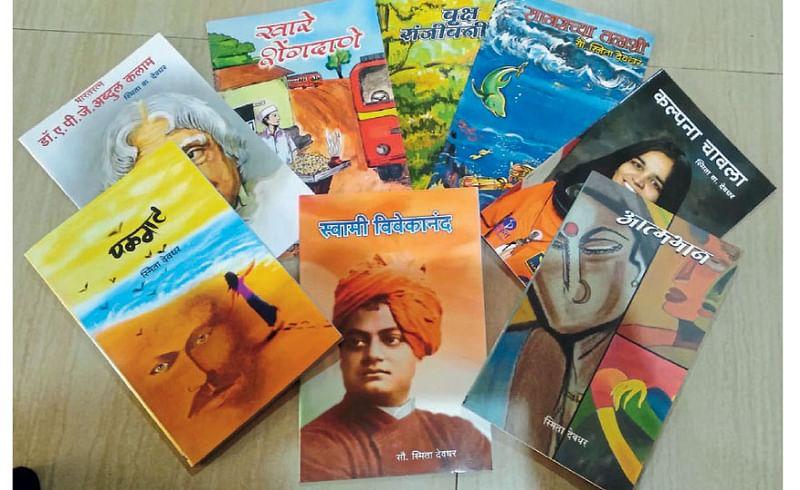 80 year grandmother continuity in writing in ratnagiri kokan marathi news
