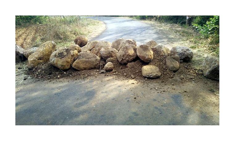 All Gates Close In Gadhinglaj Taluka Villages Kolhapur Marathi News