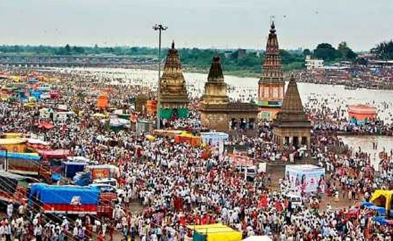 Every day 11000 homeless are in Pandharpur