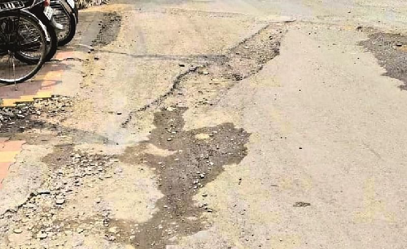 Civil neglects the poor condition of alternative roads
