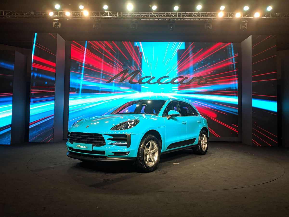 Porsche Macan facelift launched at Rs 69.9 lakh