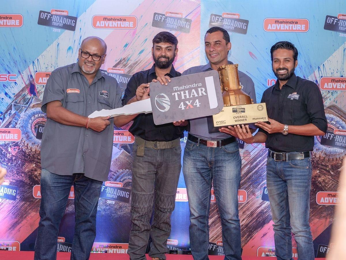 K Bopaiah wins the Mahindra Adventure Off-roading Trophy 2019