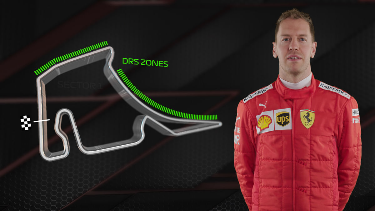 Tweaked DRS Zones for this weekend's German GP
