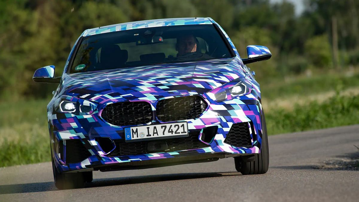BMW 2 series Gran Coupe spotted ahead of global unveil
