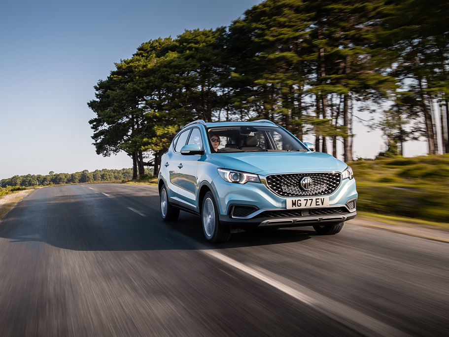 MG ZS EV arrives in UK, to launch in India soon