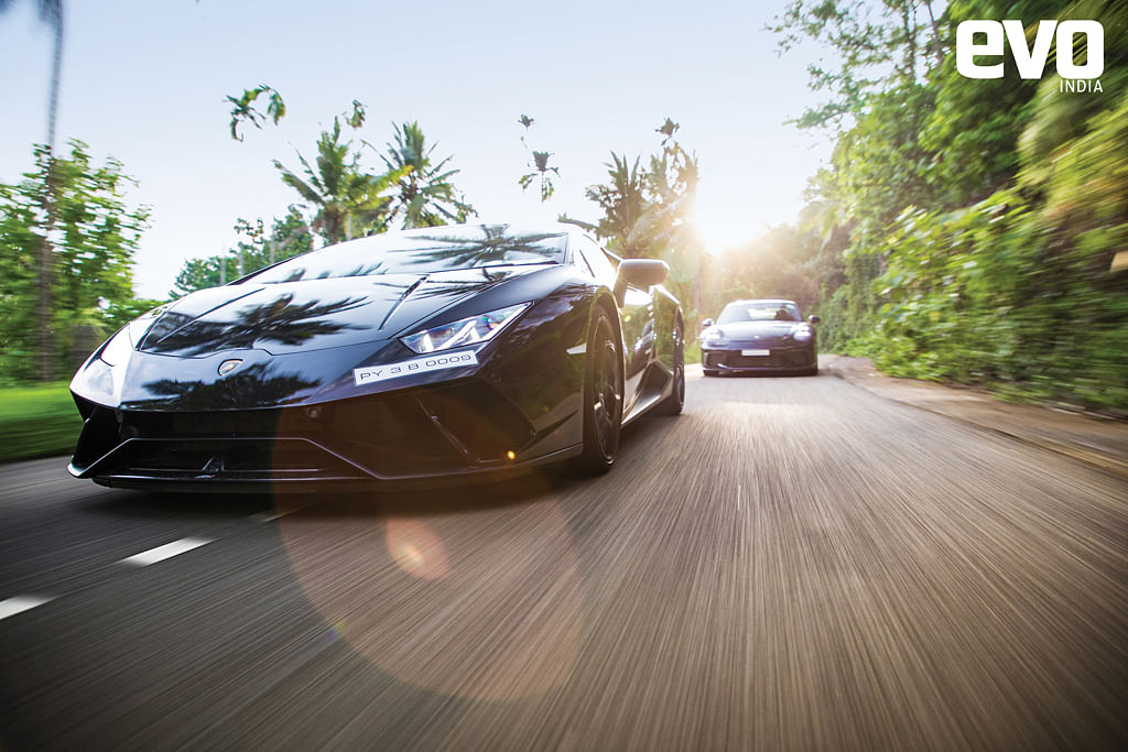 Up at dawn! If you want to drive cars like the LamborghiniHuracan Performante and the Porsche 911 GT3 the way they are meant to bedriven, you better be up at dawn