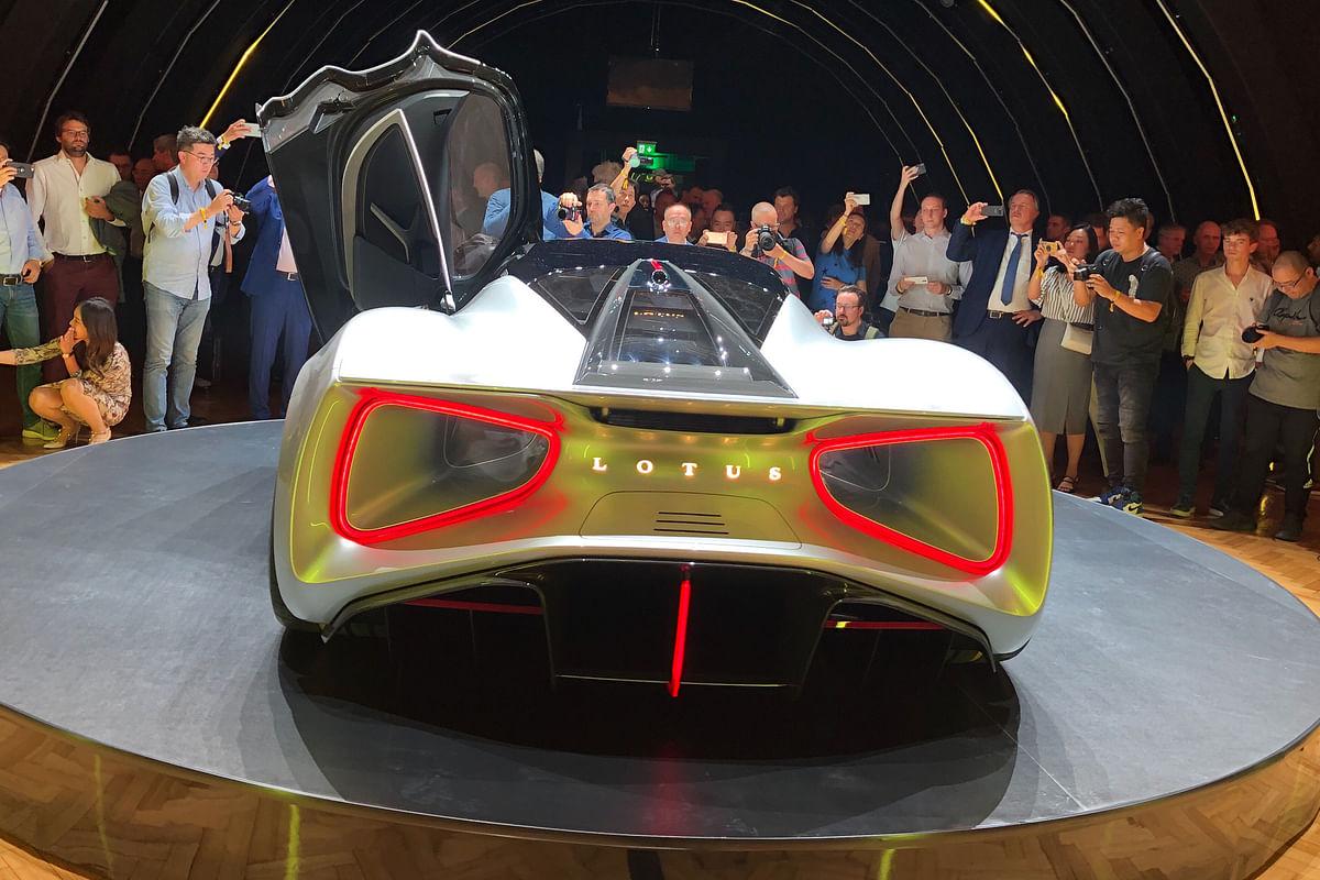 Lotus Evija revealed - 1972bhp all-electric hypercar to take on Pininfarina Battista