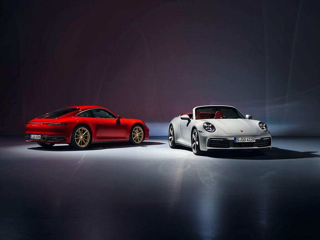 Porsche unveils 992-gen 911 Carrera and 911 Carrera Cabriolet