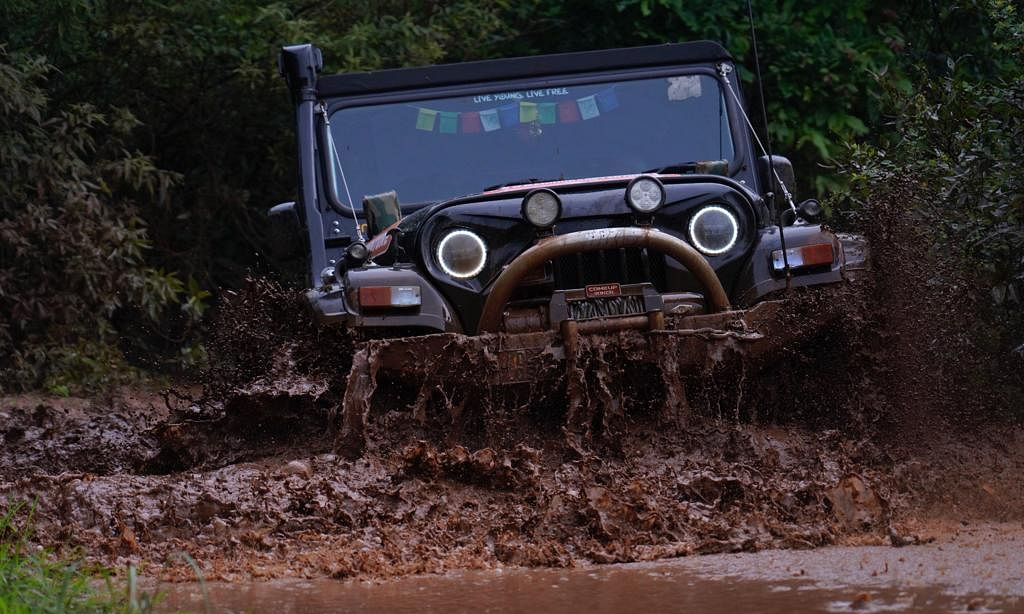 Mahindra Adventure's Lonavala Great Escape 2019-Off-roading trophy