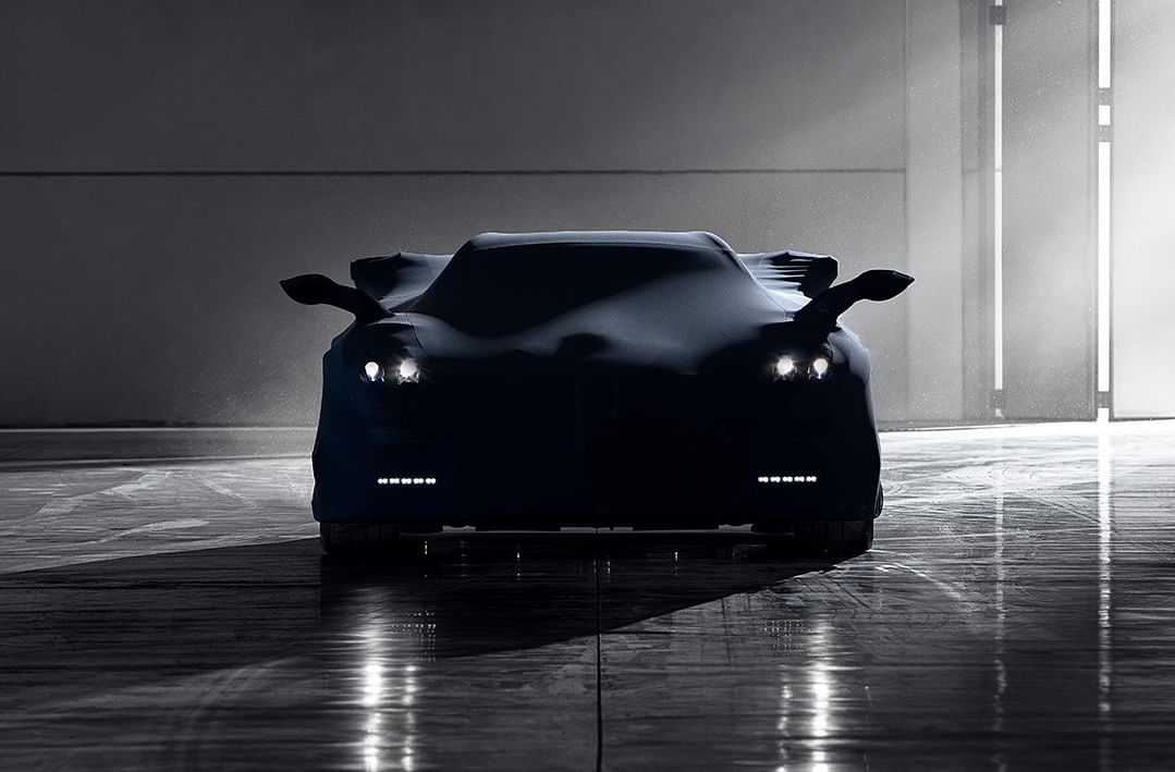 Pagani Huayra BC Roadster teased before public reveal at Pebble Beach
