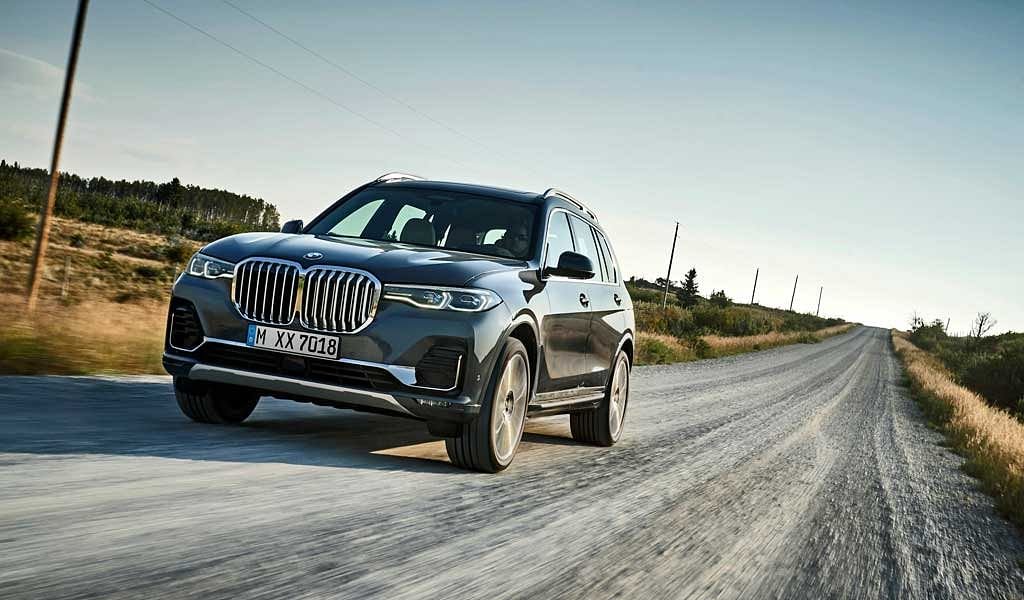 BMW X7 launched at Rs. 98.9 lakh