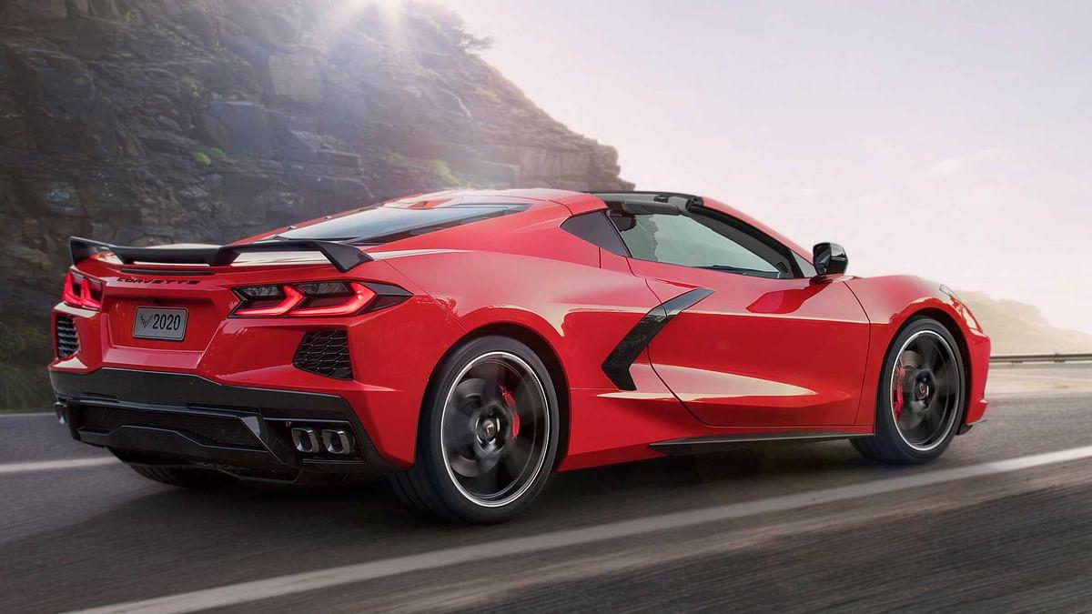 Mid-engined 2020 Chevrolet C8 Corvette unveiled