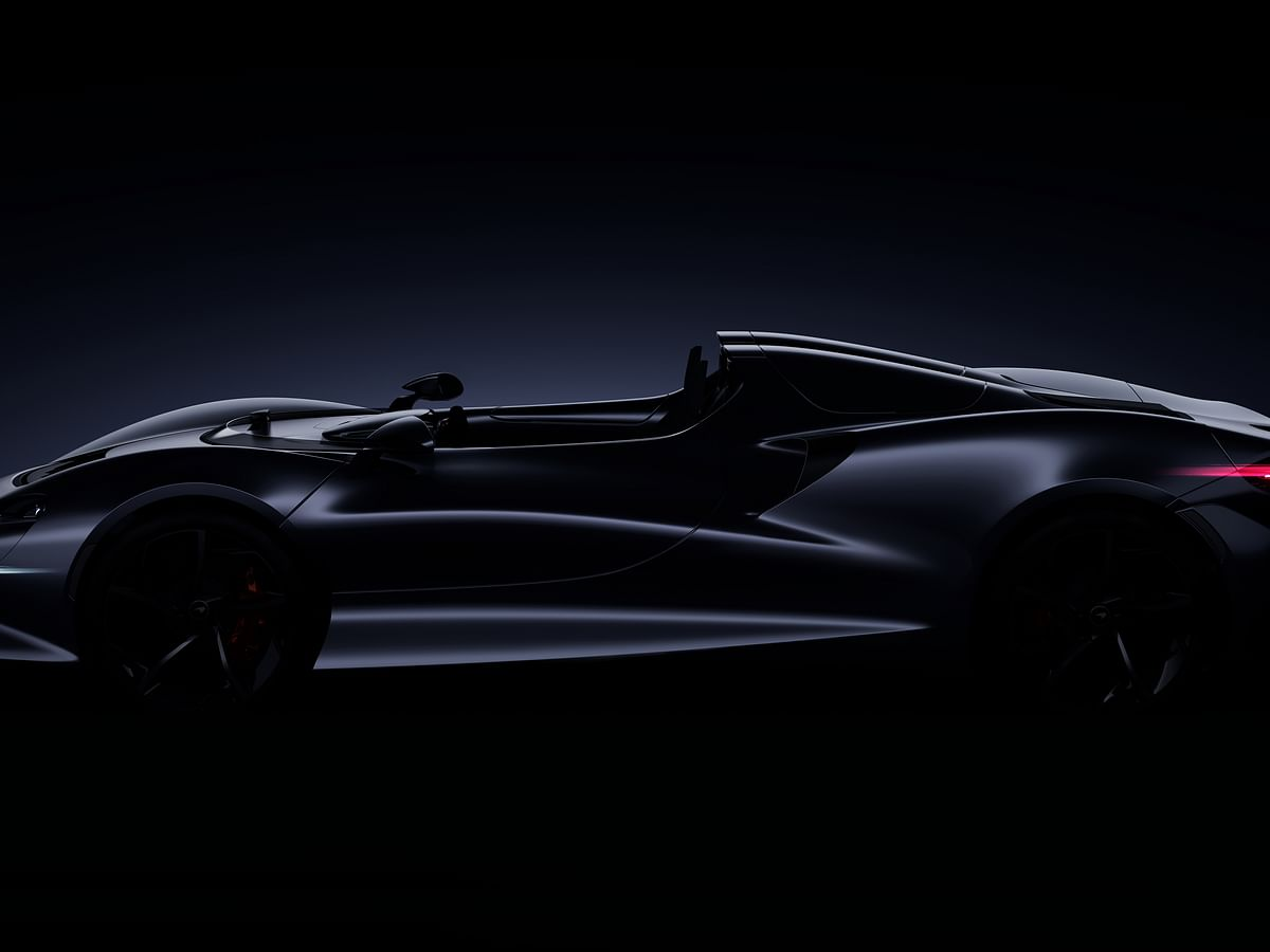 McLaren's Ultimate Series car to be an open-top speedster
