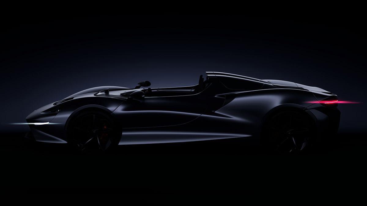 McLaren Open top speedster render