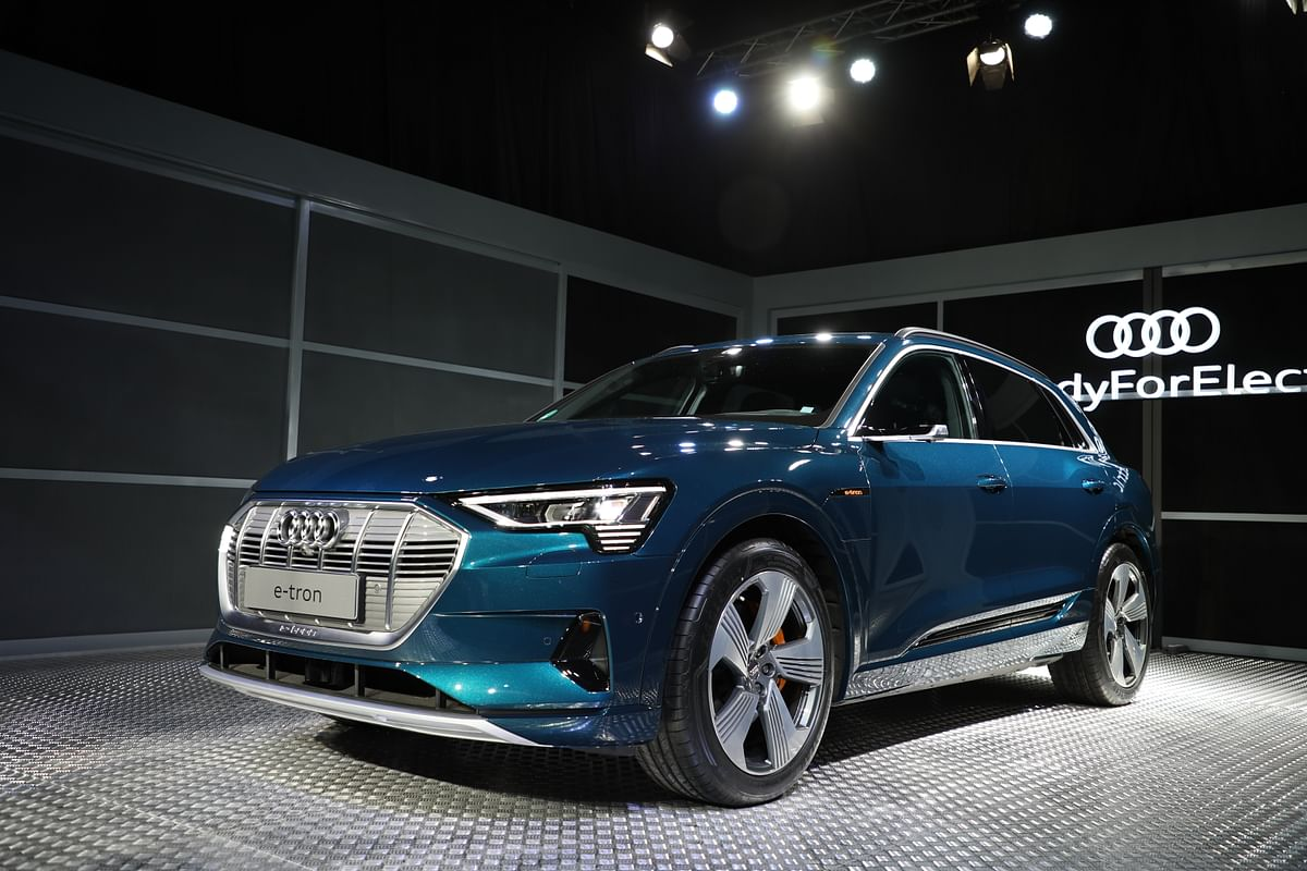 Audi's first all-electric SUV