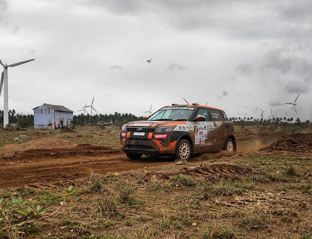 Chetan Shivram wins the INRC Coimbatore Rally 2019
