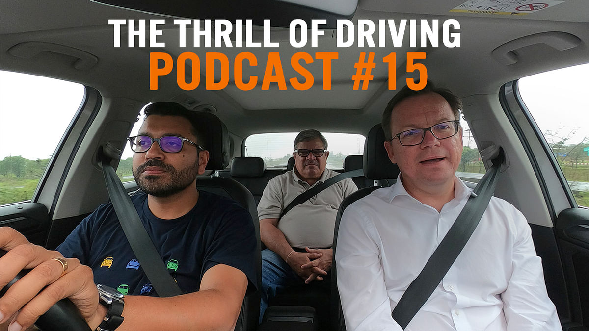 Special edition of the Thrill of Driving podcast with Volkswagen India boss Steffen Knapp