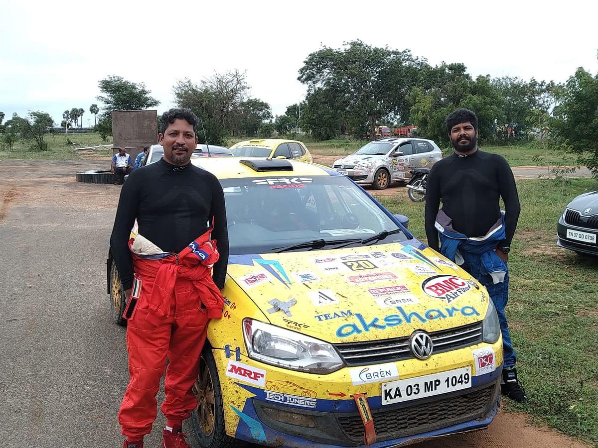 INRC Coimbatore Rally 2019: Chetan Shivram leads day one