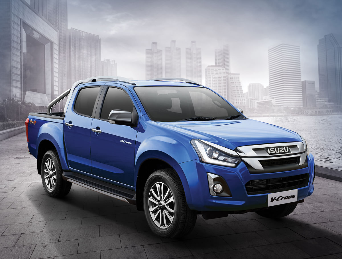 Isuzu Dmax V-Cross Z-Prestige launched at Rs 19.99 lakh
