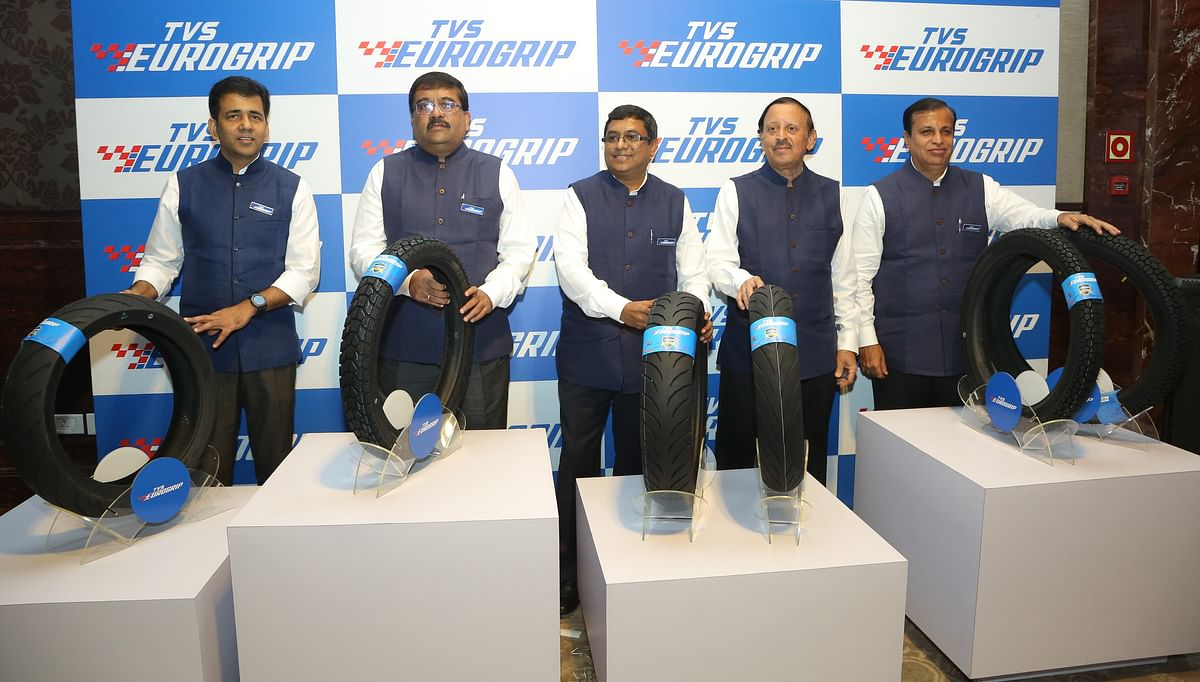TVS Srichakra Ltd launches TVS Eurogrip series of tyres