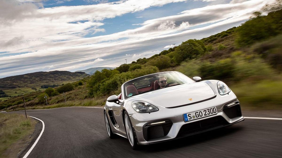 Porsche 718 Spyder review - the drop -top GT4 we've been waiting for