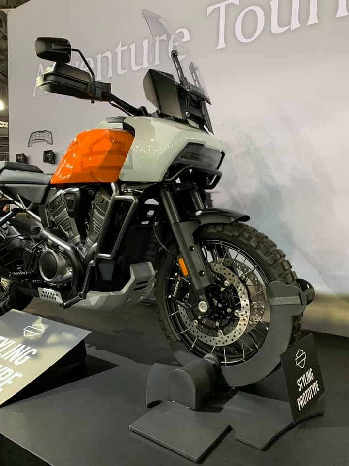 Harley-Davidson Pan America and Streetfighter 975 make their public debut