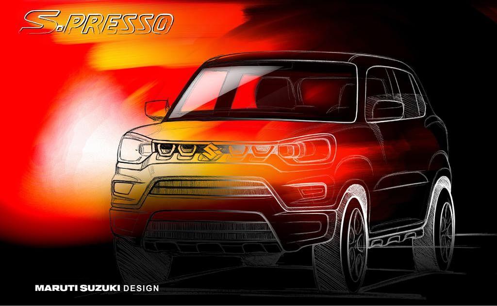 Maruti Suzuki's Kwid rival teased