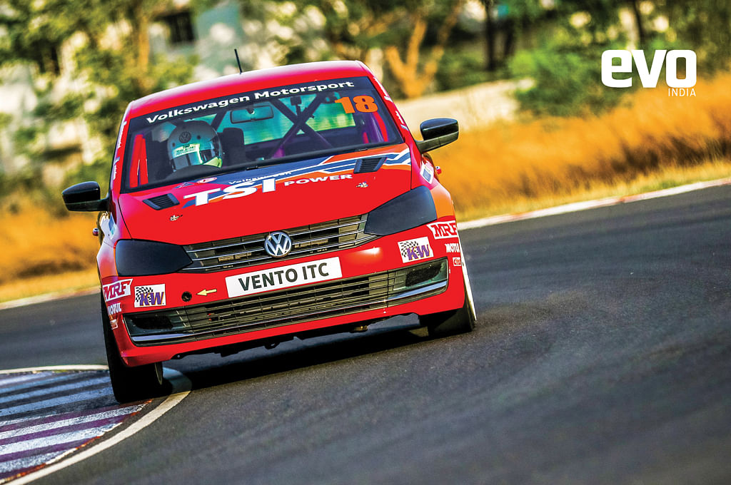 Volkswagen Vento ITC - Track test