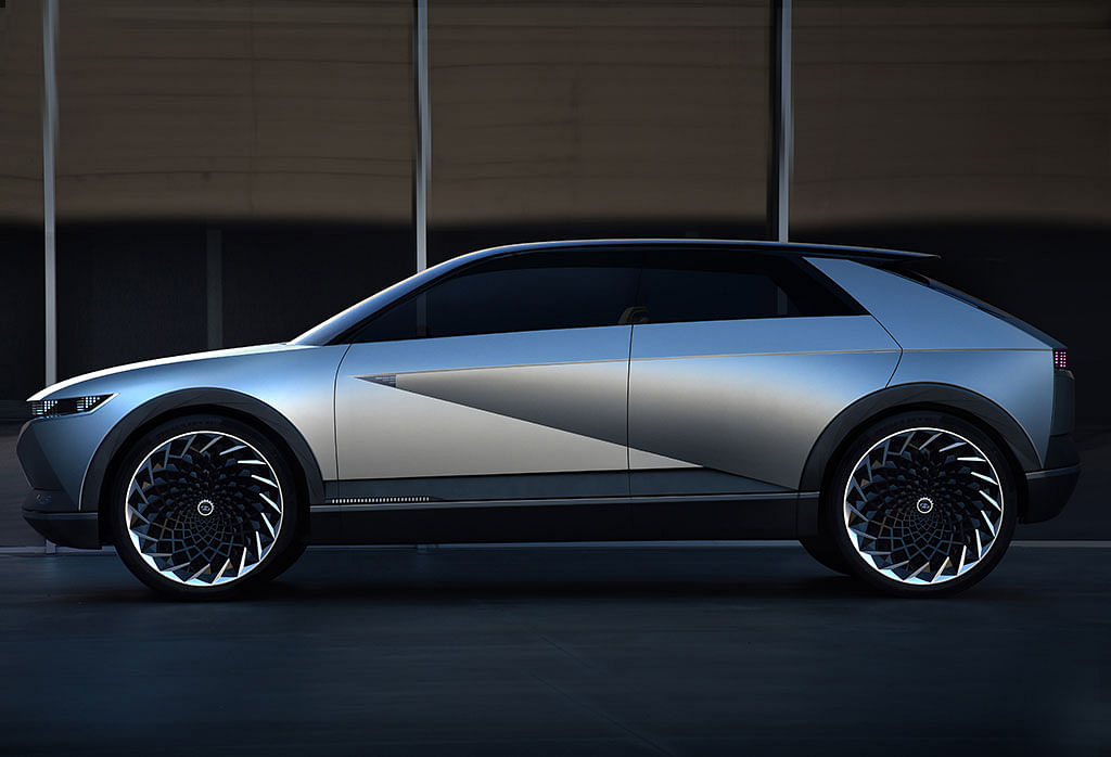 Hyundai showcases their EV design with the 45 EV Concept