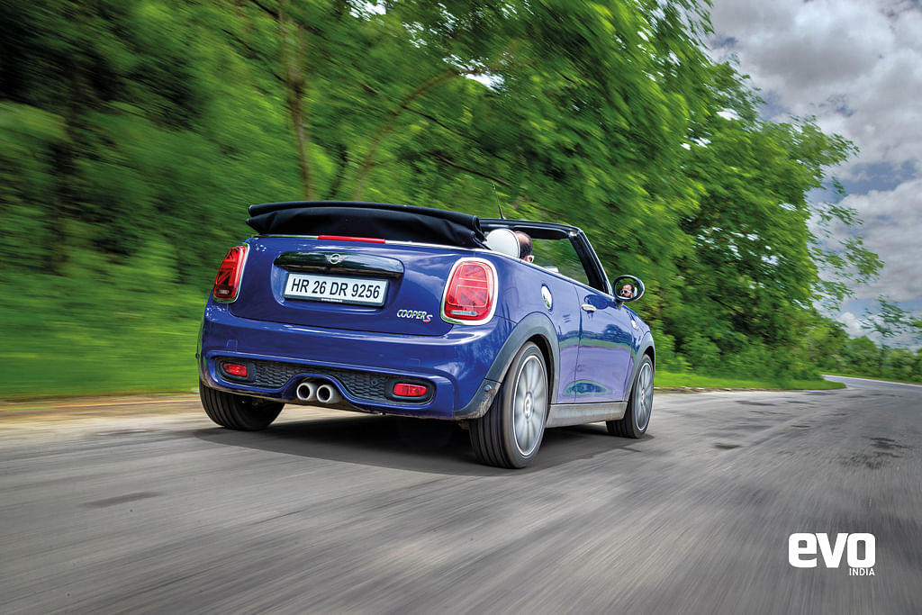 Mini Cooper S Convertible – Inappropriate behaviour