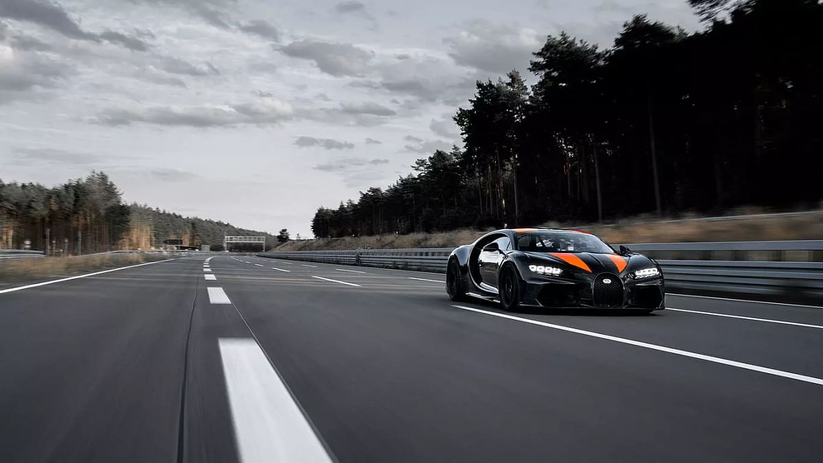 At 490kmph, modified Bugatti Chiron sets new top-speed record