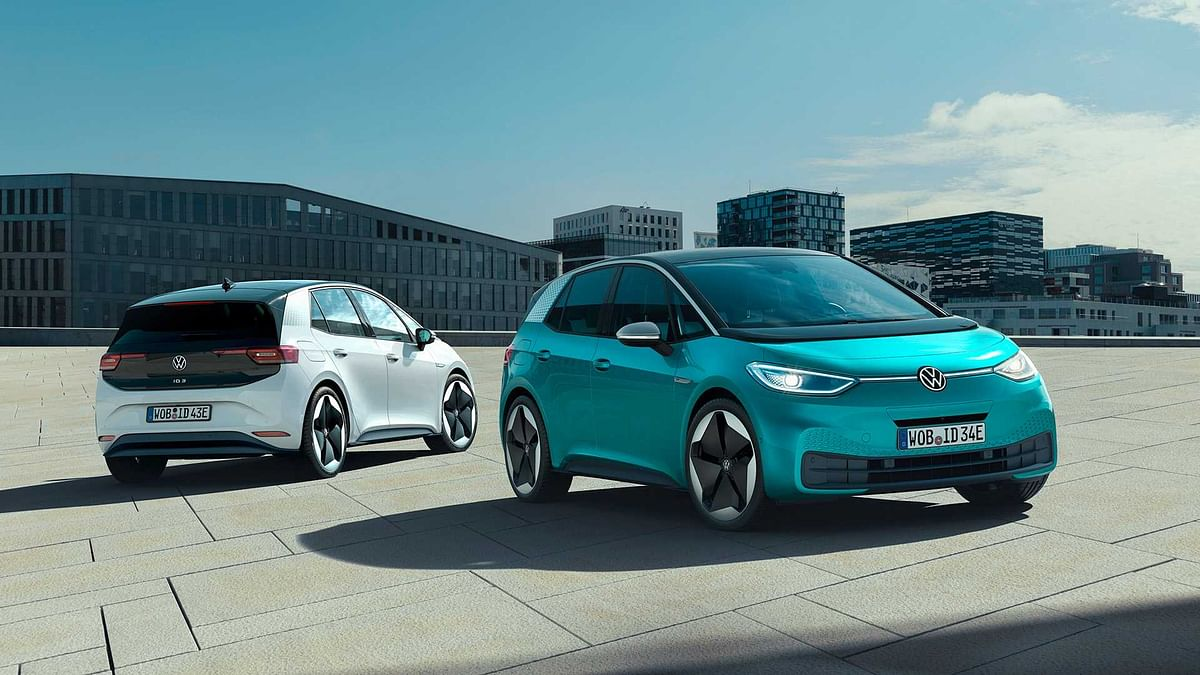 Volkswagen showcases the ID.3 mass-market electric car