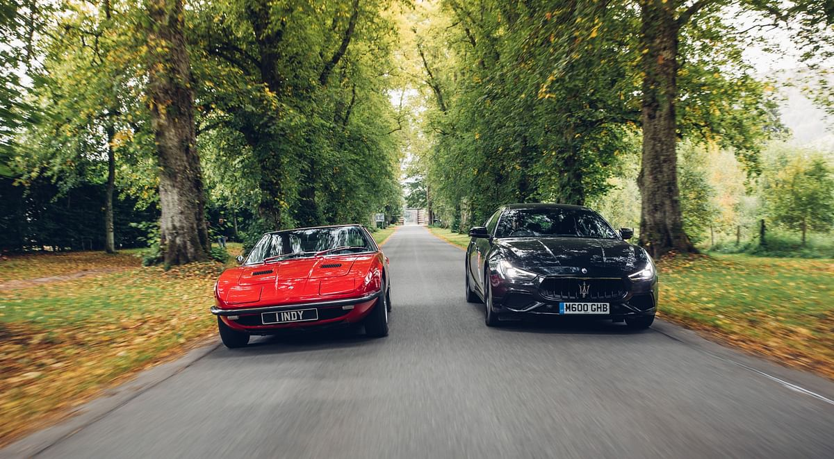 Maserati announces plans for its electric future