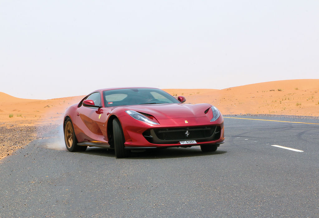 How'd you like to come over to Dubai and spend a weekend driving the Ferrari 812 Superfast?
