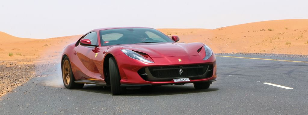 How'd you like to come over to Dubai and spend a weekend driving the Ferrari 812 Super fast?