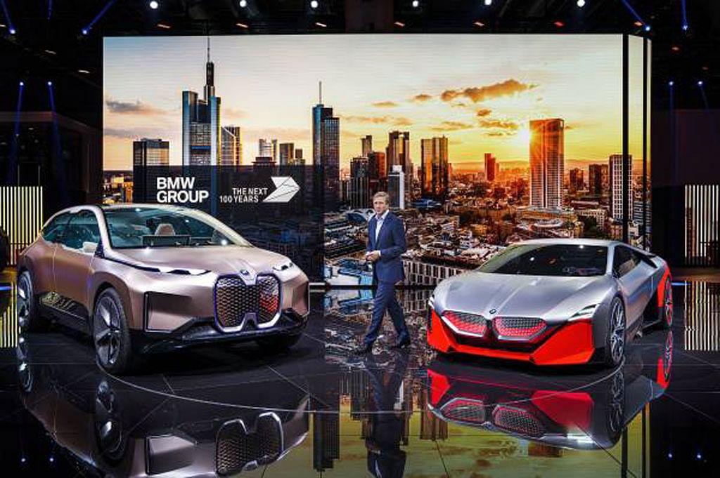 BMW unveils Concept 4 at Frankfurt motor show