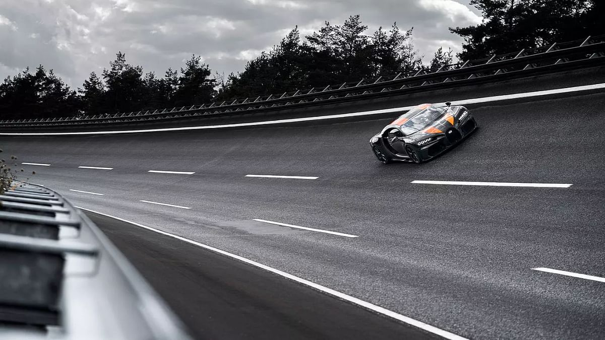 At 490kmph, modified Bugatti Chiron sets new top-speed record