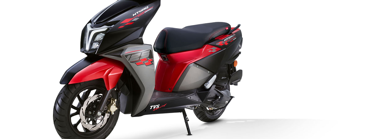 TVS launches NTorq 125 Race Edition at Rs 62,995