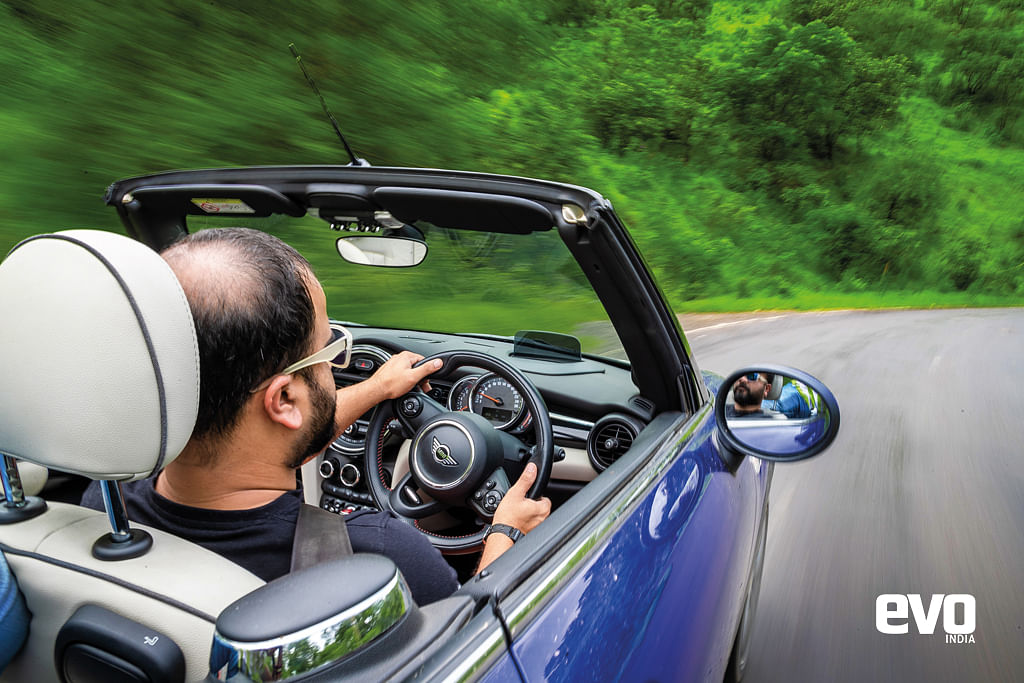 The Mini Cooper S is nothing short of therapy.