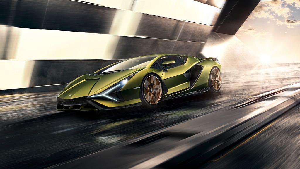 Hybrid Lamborghini Sian revealed – and it's the most powerful Lambo yet