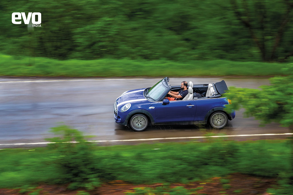 The Convertible still showcases that Mini DNA coursing through its veins