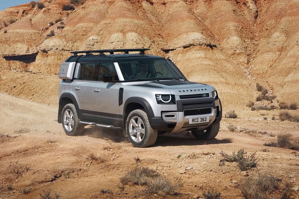 Land Rover unveils new Defender at Frankfurt Motor show