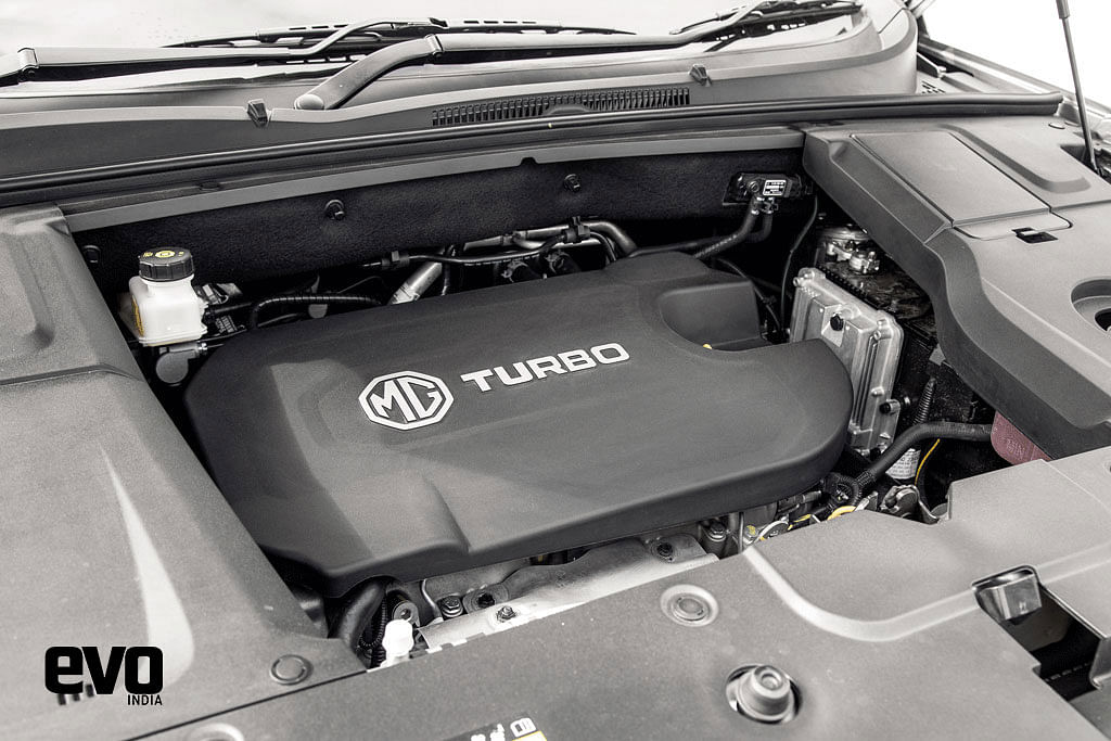 Engine of MG Hector