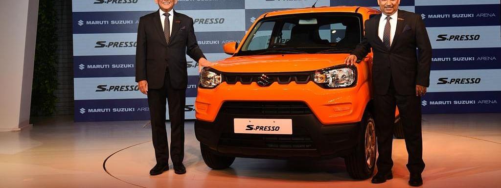 Maruti Suzuki S-PRESSO launched at Rs 3.69 lakh
