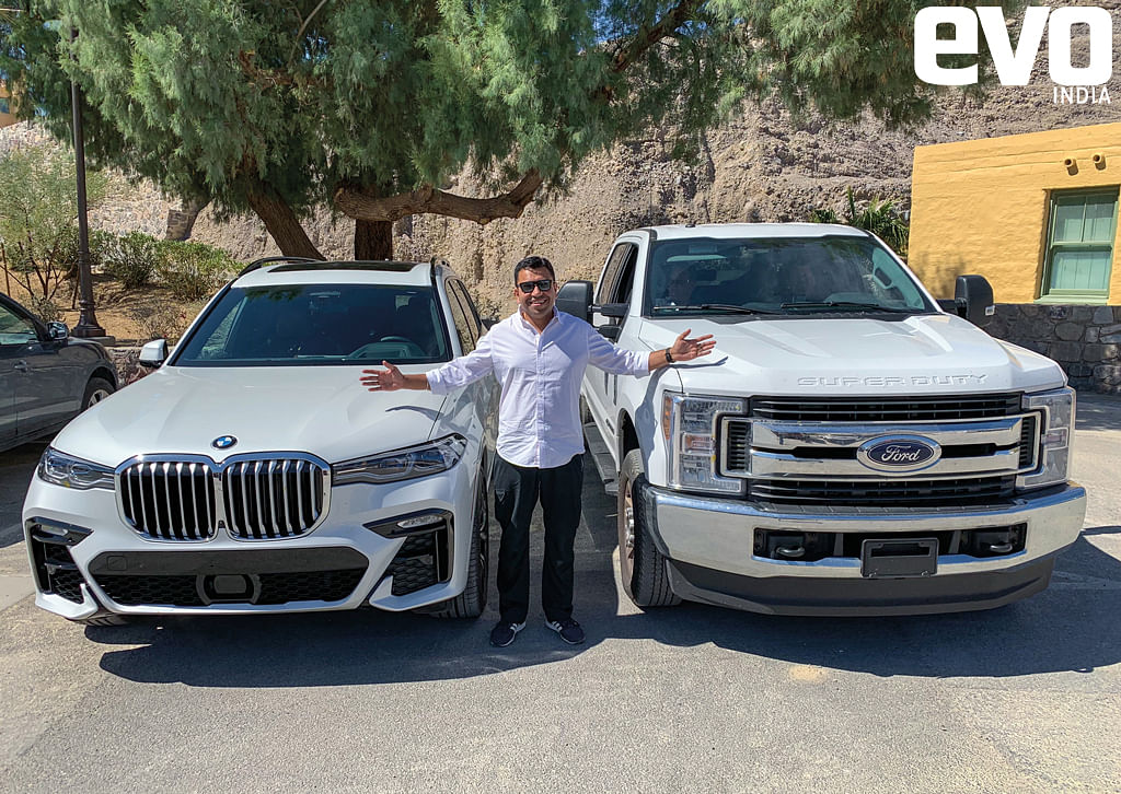 Driving the BMW X7 in the land of excess