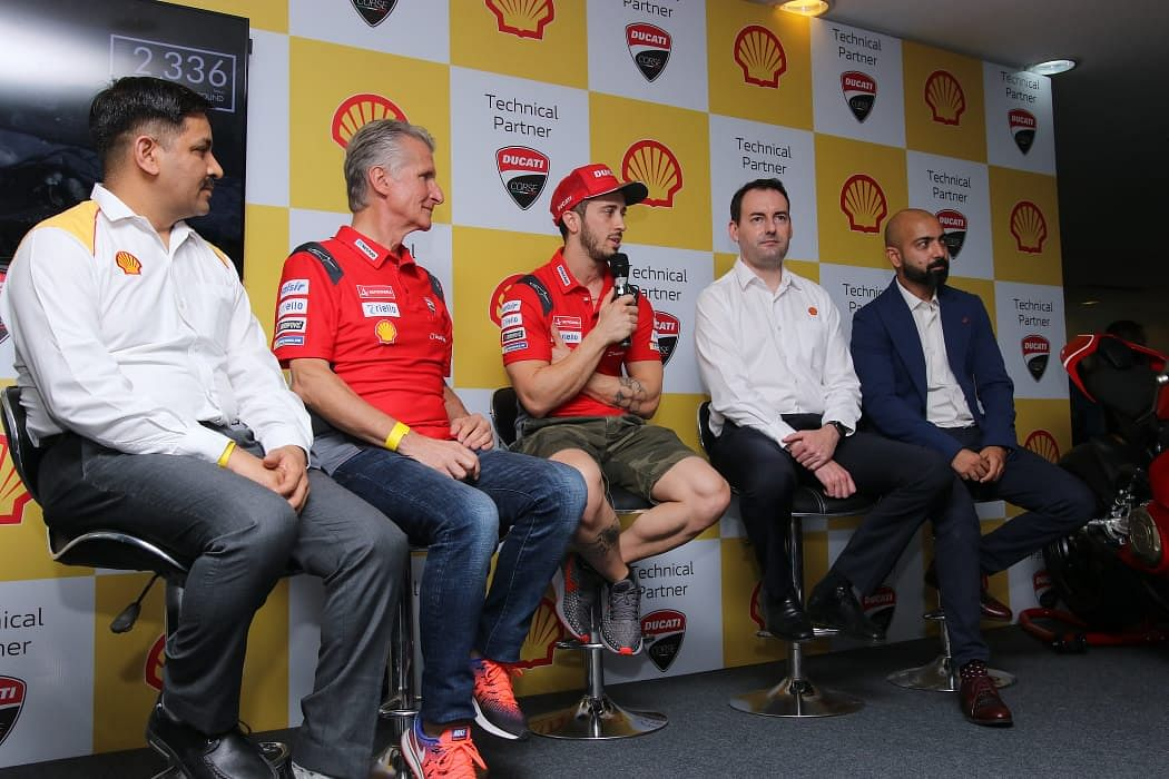 Ducati organises first-ever Shell Ducati Rider's Day