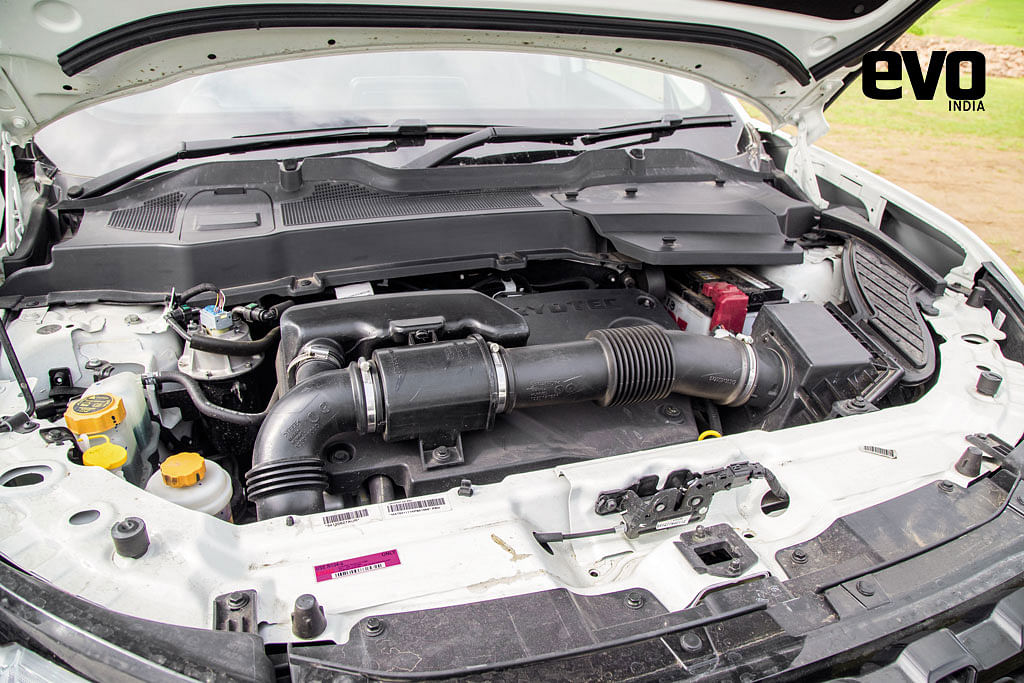 Engine of the Tata Harrier