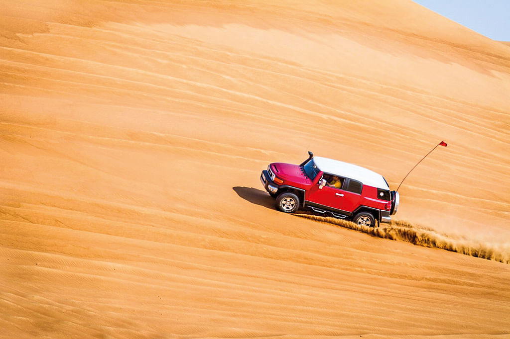 The thrill of dune slaying with the off-road gods