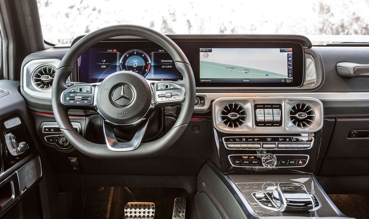 Mercedes-Benz will launch the G350d in India on October 16